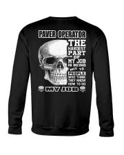 Special Shirt - Paver operators Crewneck Sweatshirt thumbnail