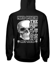 Special Shirt - Paver operators Hooded Sweatshirt thumbnail