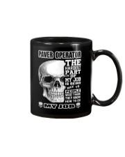 Special Shirt - Paver operators Mug thumbnail