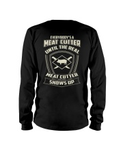 Meat cutter Long Sleeve Tee tile
