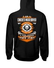 Concrete Mixer Driver Hooded Sweatshirt thumbnail