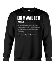 Drywaller Crewneck Sweatshirt thumbnail