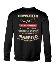Drywaller Wife  Crewneck Sweatshirt thumbnail