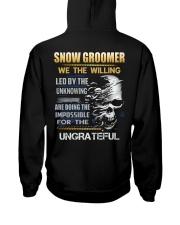 Snow Groomer Hooded Sweatshirt thumbnail