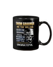 Snow Groomer Mug thumbnail
