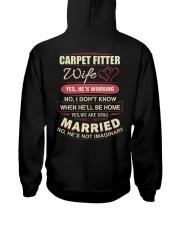 Carpet Fitter Wife  Hooded Sweatshirt thumbnail