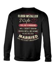 Floor installer wife Crewneck Sweatshirt thumbnail