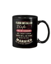 Floor installer wife Mug thumbnail