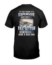 Tile Setter Classic T-Shirt back