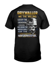 Special Shirt - Drywaller Classic T-Shirt back
