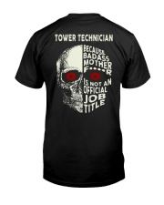 Special Shirt - Tower Technician Classic T-Shirt back