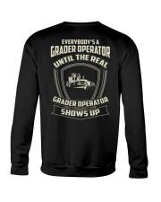 Grader operator Crewneck Sweatshirt thumbnail