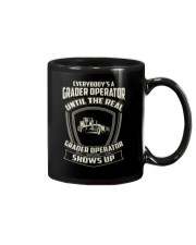 Grader operator Mug thumbnail