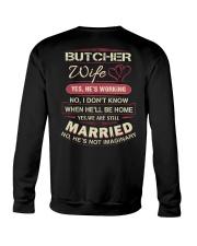 Butcher Wife  Crewneck Sweatshirt thumbnail