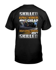 Asphalt Workers Classic T-Shirt back