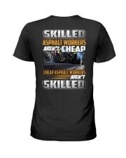 Asphalt Workers Ladies T-Shirt thumbnail