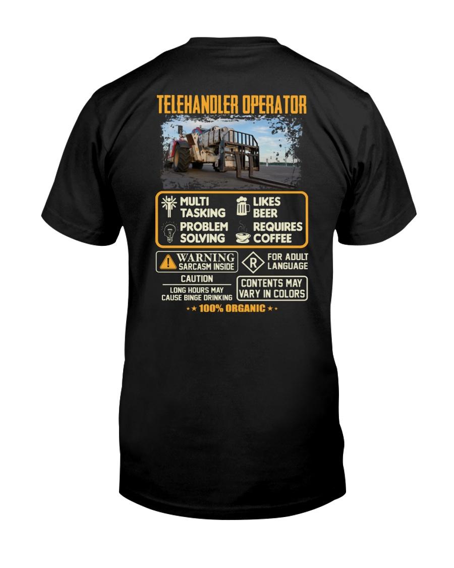 Telehandler Operator Classic T-Shirt