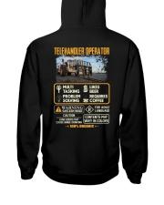 Telehandler Operator Hooded Sweatshirt thumbnail