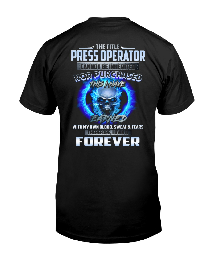 Special Shirt - Press Operator Classic T-Shirt