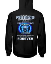Special Shirt - Press Operator Hooded Sweatshirt thumbnail