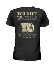 Tyre Fitter Ladies T-Shirt thumbnail