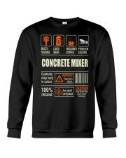 Concrete Mixer Crewneck Sweatshirt thumbnail