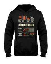 Concrete Mixer Hooded Sweatshirt thumbnail