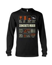 Concrete Mixer Long Sleeve Tee thumbnail