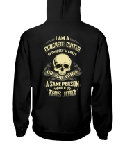 Special Shirt -  Concrete cutter Hooded Sweatshirt thumbnail