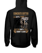 Special Shirt - Concrete Cutter Hooded Sweatshirt thumbnail