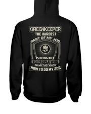 Special Shirt - Greenkeeper Hooded Sweatshirt thumbnail