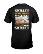 Drywall Finishers Classic T-Shirt back