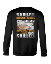 Drywall Finishers Crewneck Sweatshirt thumbnail