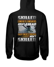 Concrete Finishers Hooded Sweatshirt thumbnail