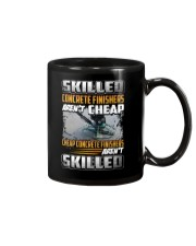 Concrete Finishers Mug tile