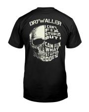 Drywaller Classic T-Shirt back