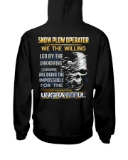 Snow Plow Operator Hooded Sweatshirt thumbnail