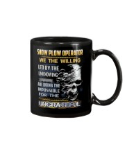 Snow Plow Operator Mug thumbnail