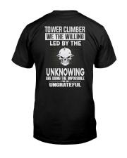 Tower Climber Classic T-Shirt back
