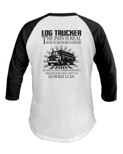 Log trucker Baseball Tee thumbnail