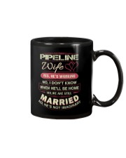 Pipeline wife Mug tile
