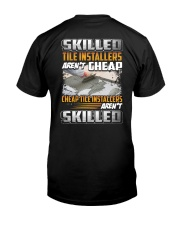 Tile installers Classic T-Shirt back