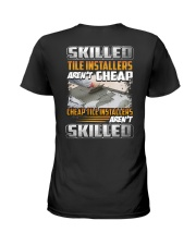 Tile installers Ladies T-Shirt tile