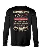 Concrete Cutter wife  Crewneck Sweatshirt thumbnail