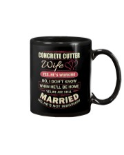 Concrete Cutter wife  Mug thumbnail