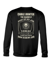 Special Shirt - Cable jointer Crewneck Sweatshirt thumbnail