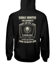 Special Shirt - Cable jointer Hooded Sweatshirt thumbnail