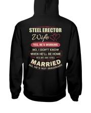 Steel Erector wife  Hooded Sweatshirt thumbnail