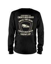 Concrete mixer driver Long Sleeve Tee thumbnail