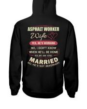 Asphalt Worker Wife  Hooded Sweatshirt thumbnail